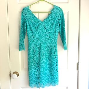 Turquoise Lace Lilly Pulitzer Dress